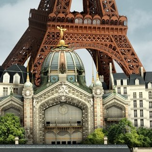 Paris 3D Saga – Experience it live, online and mobile