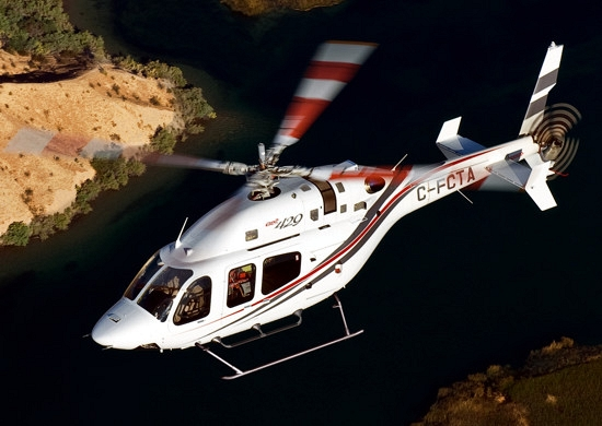Who is flying with V6? Bell Helicopter is