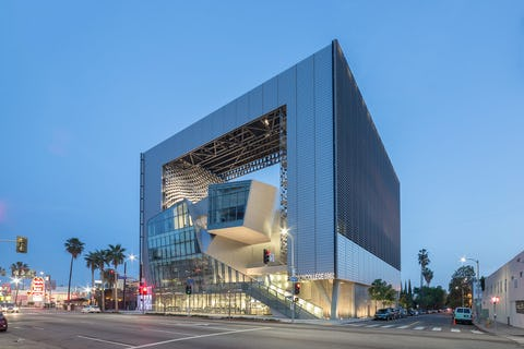 Emerson College Los Angeles >> Zahner Works Emerson College At Los Angeles 3d Perspectives