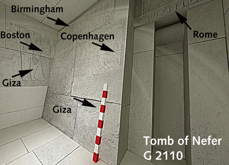 Example of Giza 3D International Collaboration
