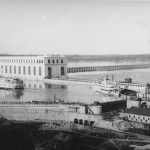Historical image of Keokuk Power Plant, and Lock and Dam 19