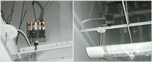 Light fixtures installed through a more effective process