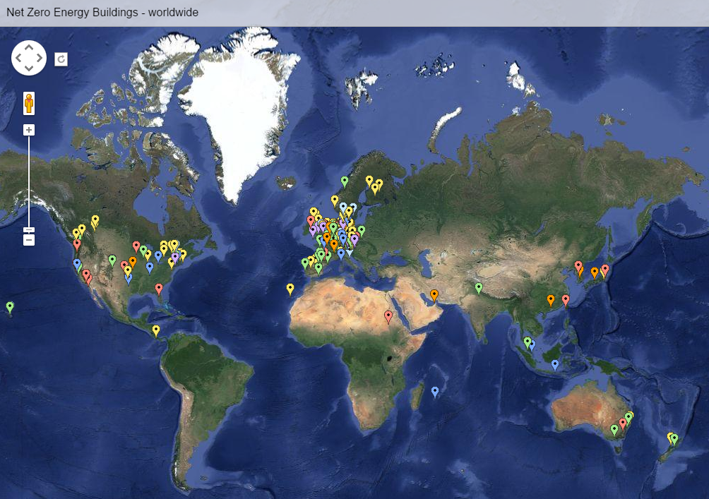 Click here to see a map of net zero buildings around the world