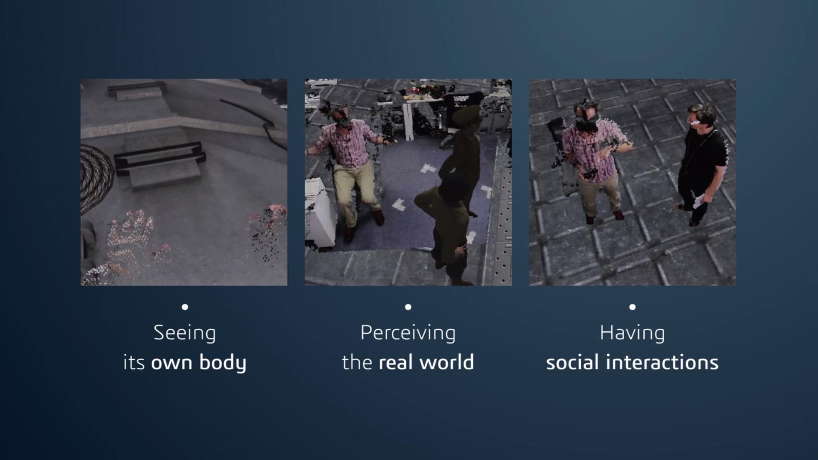 Never blind in VR - Findings