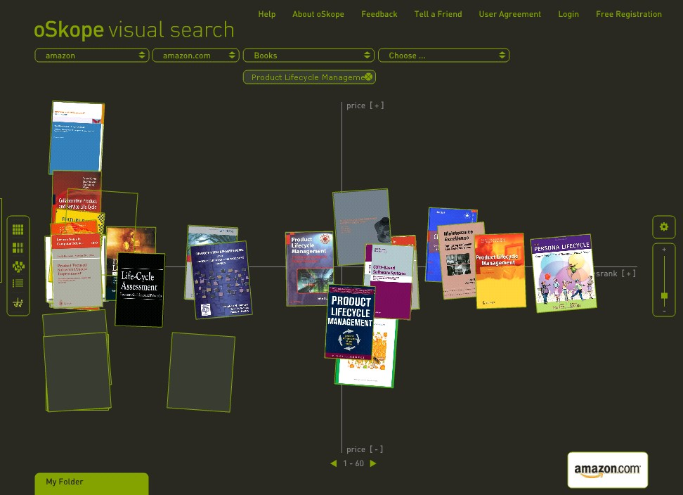 Visual search engines 3d perspectives for 3d search engine