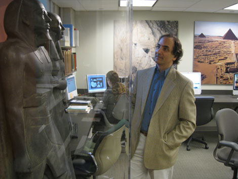 Giza 3D: 3 Questions for Harvard Professor Peter Der Manuelian