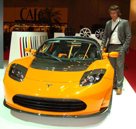 Radical EV @2010 Paris Motor Show