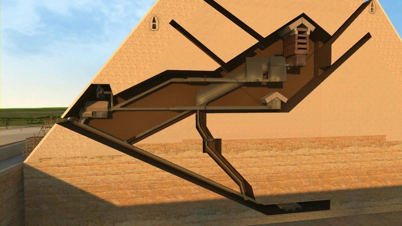 Khufu S Secret Rooms