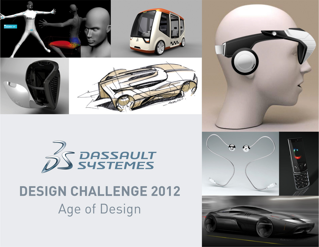 """Age of Design"" Challenge featuring CATIA Natural Sketch"