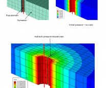 New Patent: Hydraulic Fracture Simulation with an Extended FEM