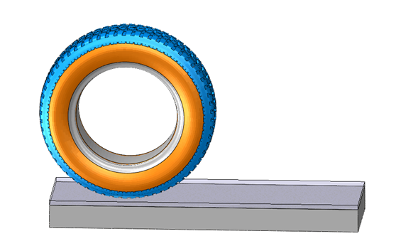 Tire-Soil Interaction Modeling with Abaqus using the CEL method