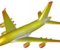 SIMULIA Whitepaper: Simulating Lightning Strikes on Aircraft