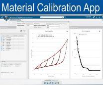 Material Model Calibration App in 3DEXPERIENCE Platform