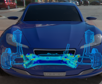Simulating a Vehicle's Chassis and Suspension Strength