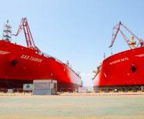 江南造船建造命名全球最大LEG船