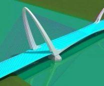 長安大橋設計系列之異形鋼塔曲面優化