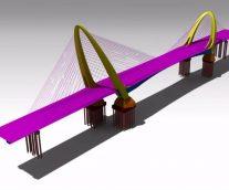 長安大橋設計系列之2D圖紙表達